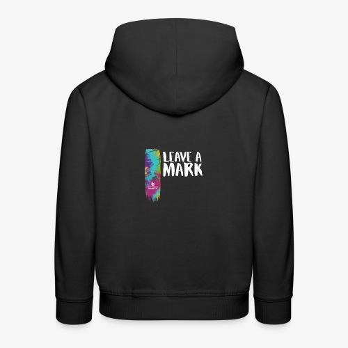 Leave a mark - Kids' Premium Hoodie