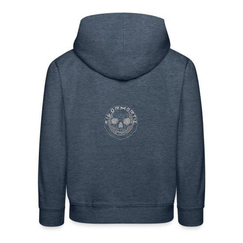 Rigormortiz Wear See through logo - Kids' Premium Hoodie