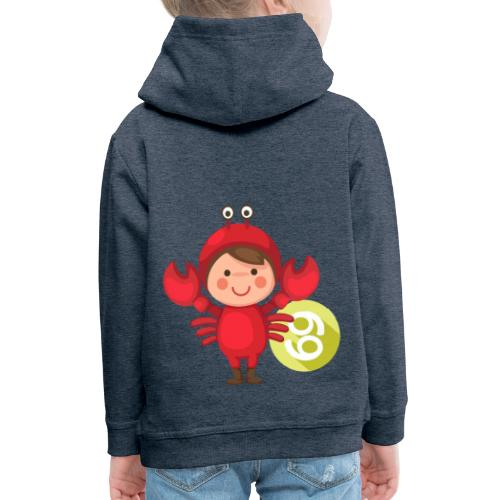 Cancer Kids - Sudadera con capucha premium niño