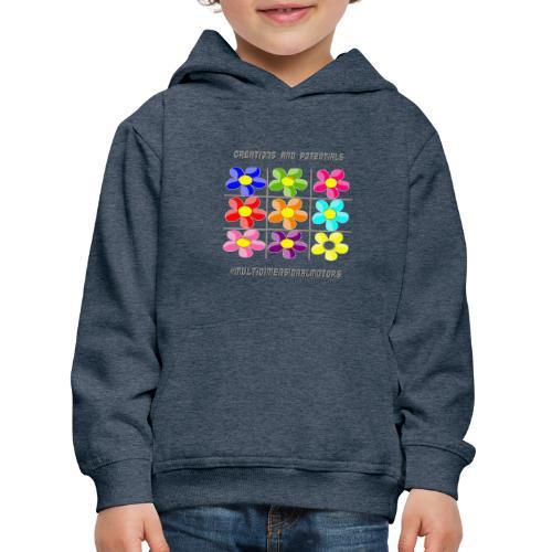logo of my #MultiDimensionalMotors blog - Felpa con cappuccio Premium per bambini