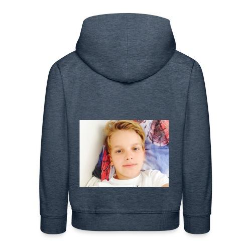 first design - Premium hættetrøje til børn