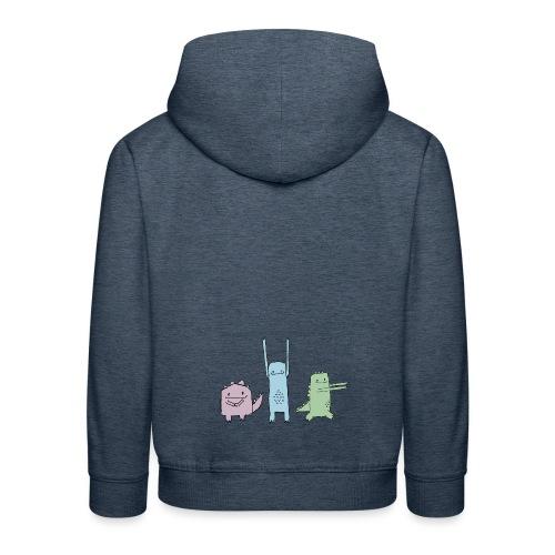 Little Monster Friends - Kinder Premium Hoodie