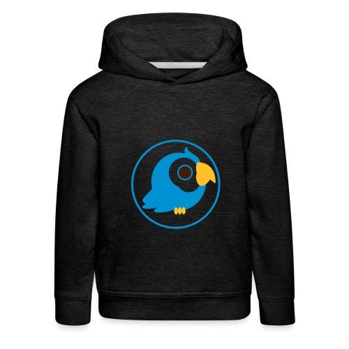 Birdy blue - Kinder Premium Hoodie