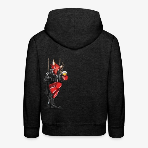 Don't mess with the Bull - Kinder Premium Hoodie
