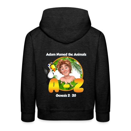 Adam Named the Animals Logo - Kids' Premium Hoodie