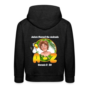 Adam Named the Animals Logo - Kids' Premium Hoodie