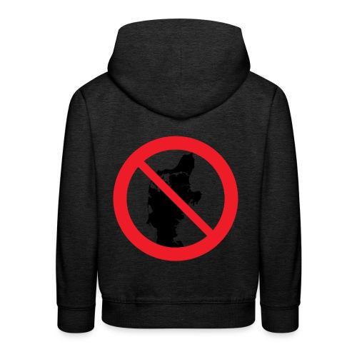 Jylland forbudt - Bestsellere - Premium hættetrøje til børn