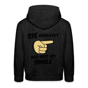 Sie heiratet, der Rest ist Single - JGA T-Shirt - Kinder Premium Hoodie