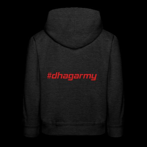 Hoodie Kinder #dhagarmy - Kinder Premium Hoodie
