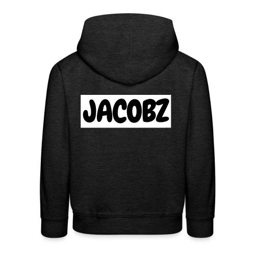 Jacobz Logo Design for black merch - Kids' Premium Hoodie