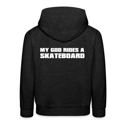 skateboard - Pull à capuche Premium Enfant