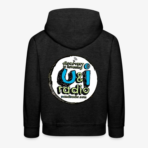 U & I Logo - Kids' Premium Hoodie