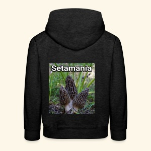 Colmenillas setamania - Sudadera con capucha premium niño