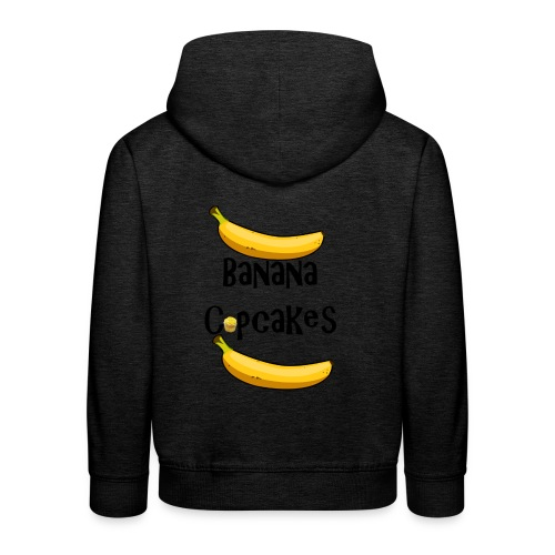 Banana Cupcake - Kids' Premium Hoodie
