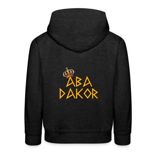Abadakor - Pull à capuche Premium Enfant