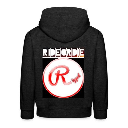 Rigged - RIDEORDIE - Kinder Premium Hoodie