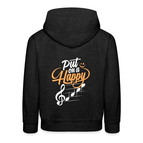 happy face - Kinder Premium Hoodie