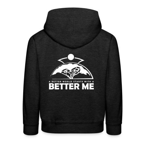 Better Me - White - Kids' Premium Hoodie