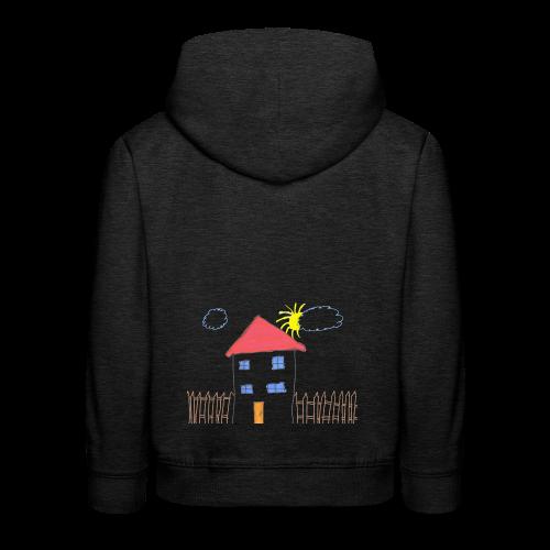 Das Familienhaus Haus Kindheit - Kinder Premium Hoodie