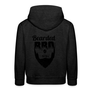 Berded BBQ Boys BLack Edition - Kinder Premium Hoodie