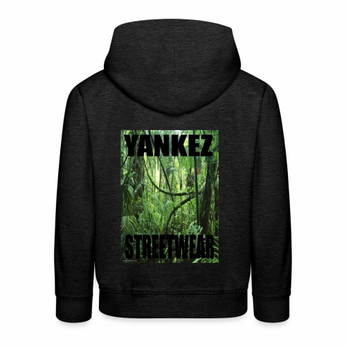 Yankez Backprint Jungle - Kinder Premium Hoodie