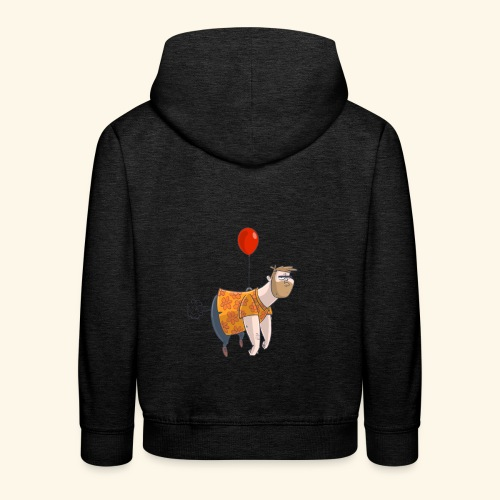 Ballon man - Kinderen trui Premium met capuchon