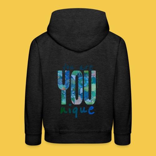 you are unique - Kinder Premium Hoodie