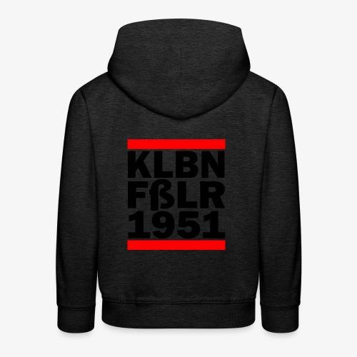 GUEST KLBNFßLER 1951 black - Kinder Premium Hoodie