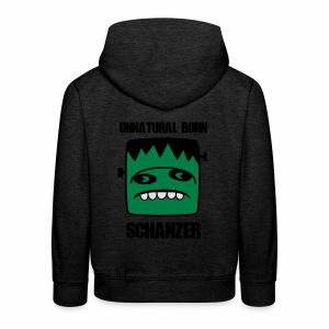 Fonster unnatural born Schanzer - Kinder Premium Hoodie