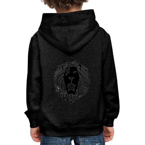 Lion - Sudadera con capucha premium niño