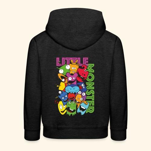little monster - kleine Monster - Kinder Premium Hoodie