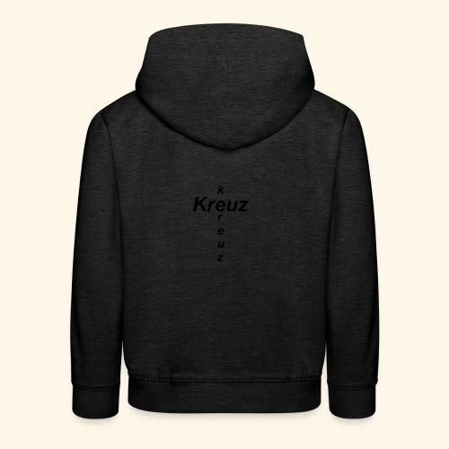 kreuz - Kinder Premium Hoodie