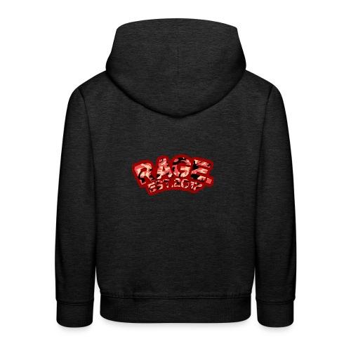 RAGE EST .2017 RED - Kids' Premium Hoodie