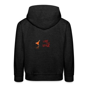 Live The Style - Kids' Premium Hoodie