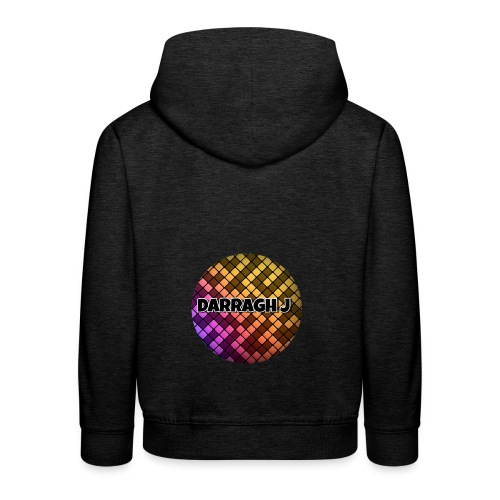 Darragh J logo - Kids' Premium Hoodie