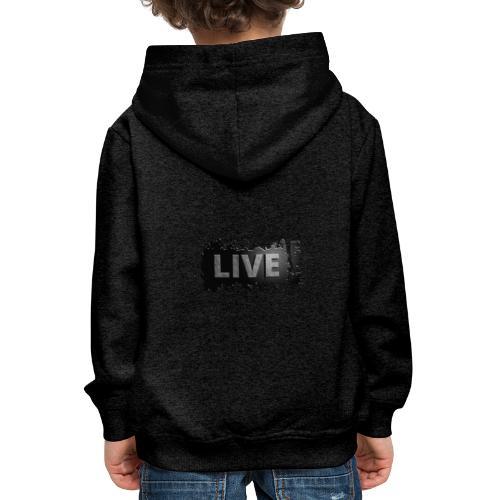 live - Kinderen trui Premium met capuchon