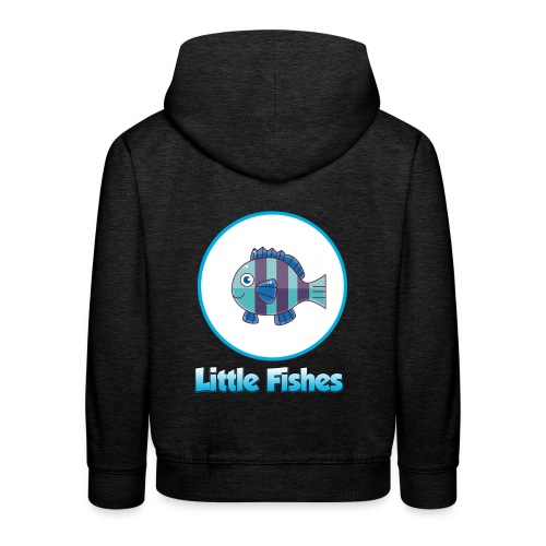 Little Fishes Logo - Kids' Premium Hoodie
