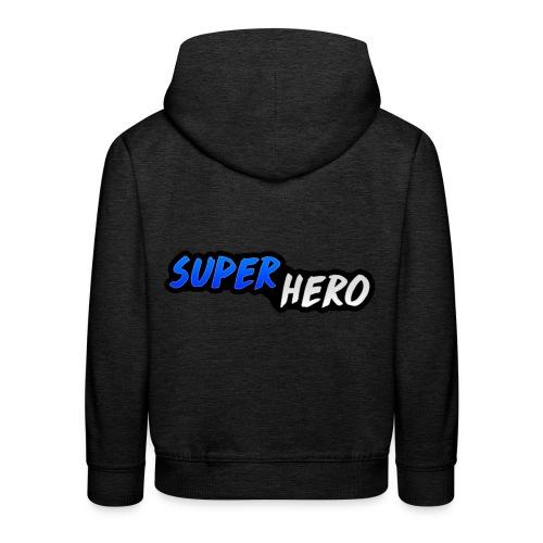 SuperHeroMerchandise - Kinderen trui Premium met capuchon