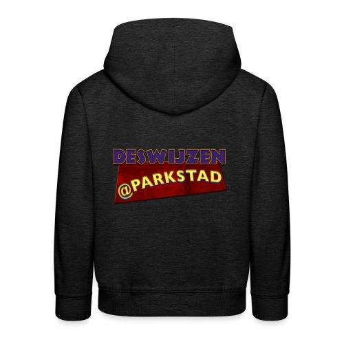 Deswijzen@Parkstad - Kinderen trui Premium met capuchon