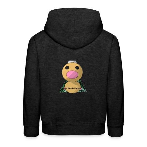 HetWeedleKanaal shirt KINDER EN TIENER MATEN - Kinderen trui Premium met capuchon
