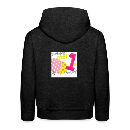 1 today birthday girl - Kids' Premium Hoodie