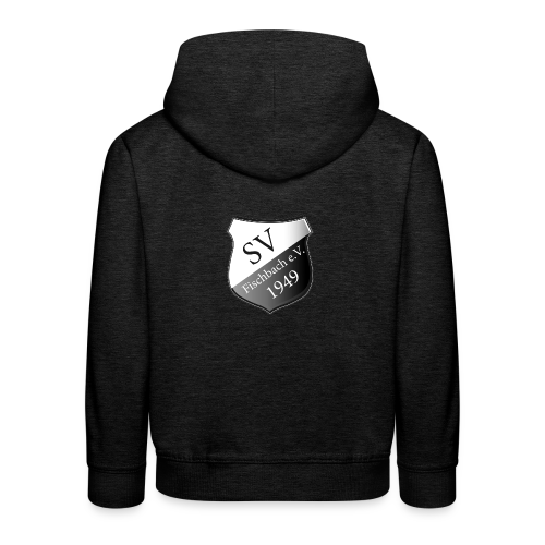 svf-Wappen-schwarz - Kinder Premium Hoodie
