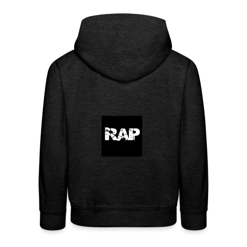 Rap - Logo - Kids' Premium Hoodie
