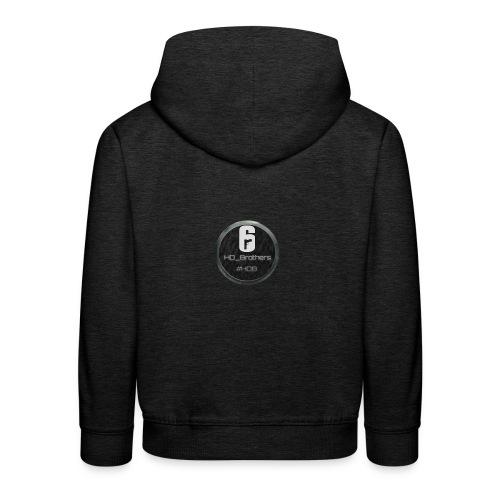 #HDB HD_Brothers Logo - Kinder Premium Hoodie