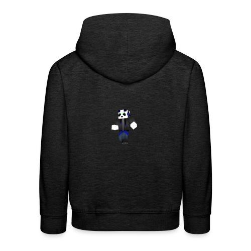 H2o_Panda - Premium-Luvtröja barn
