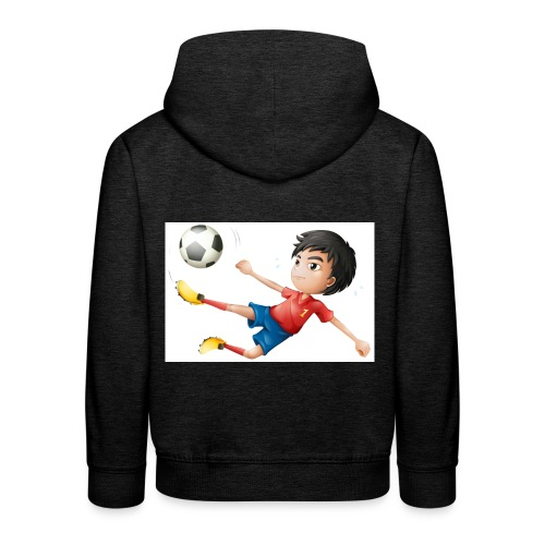 Freestyle Kid Cartoon - Kids' Premium Hoodie
