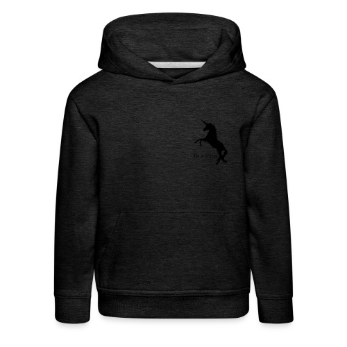 Be a unicorn - Kinder Premium Hoodie