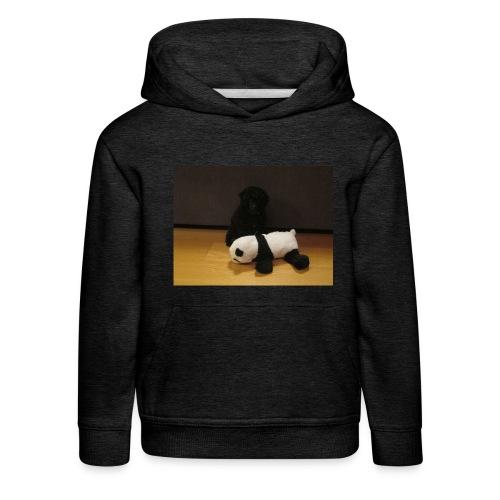 Maggie och pandan - Premium-Luvtröja barn