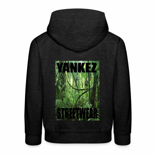 Yankez Backprint Jungle - Kinder Premium Hoodie