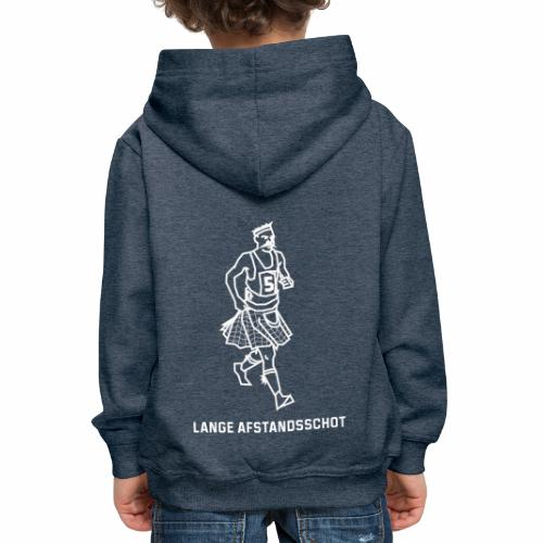 Lange Afstandsschot - Kinderen trui Premium met capuchon
